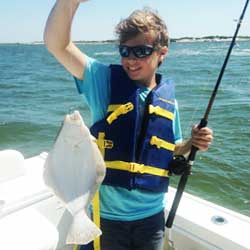 Beautiful Barnegat Bay Trip Takes Only One Keeper Fluke Home