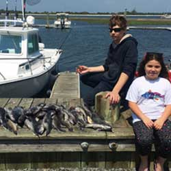 Boat Limit Of Barnegat Light Sea Bass
