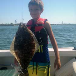 Boys Had Fun On Barnegat Bay Fishing Trip