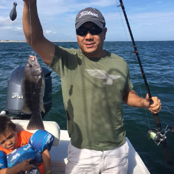 Double Header Of Trigger Fish