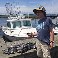 Fast & Furious LBI- Sea Bassing Puts 25 In The Box