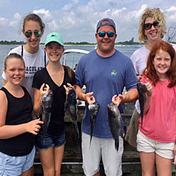 Five Girls Box 15 LBI Sea Bass