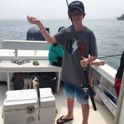 Great Group Of Kids Took Home 12 Sea Bass & 3 Fluke