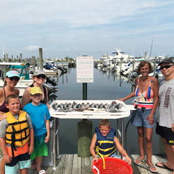Kids Had Fun Brining Home 18 Sea Bass
