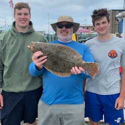 Lots Of Short Fluke Took Home A 24 IIncherer