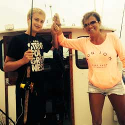 Patience Pays On LBI Sea Bass Trip