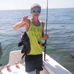 Quick Barnegat Light Trip Nets 5 Porgies