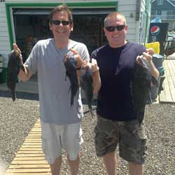 Winning LBI Sea Bass Trip